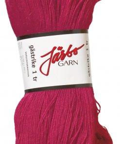 Gästrike 1-trådet strikkegarn i farven fucia