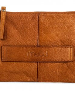 Muud Dust: Håndlavet læder clutch